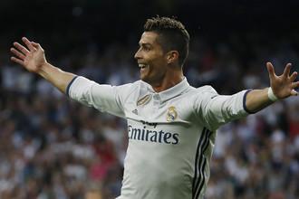 Криштиану Роналду празднует гол в ворота «Атлетико» в полуфинале Лиги чемпионов
