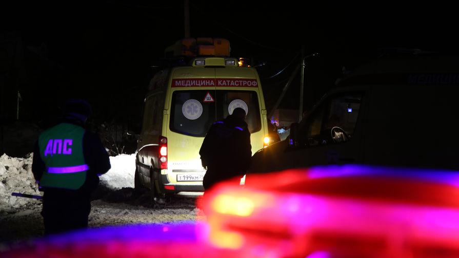 Источник: упавший самолет обнаружили с воздуха в поле в Подмосковье