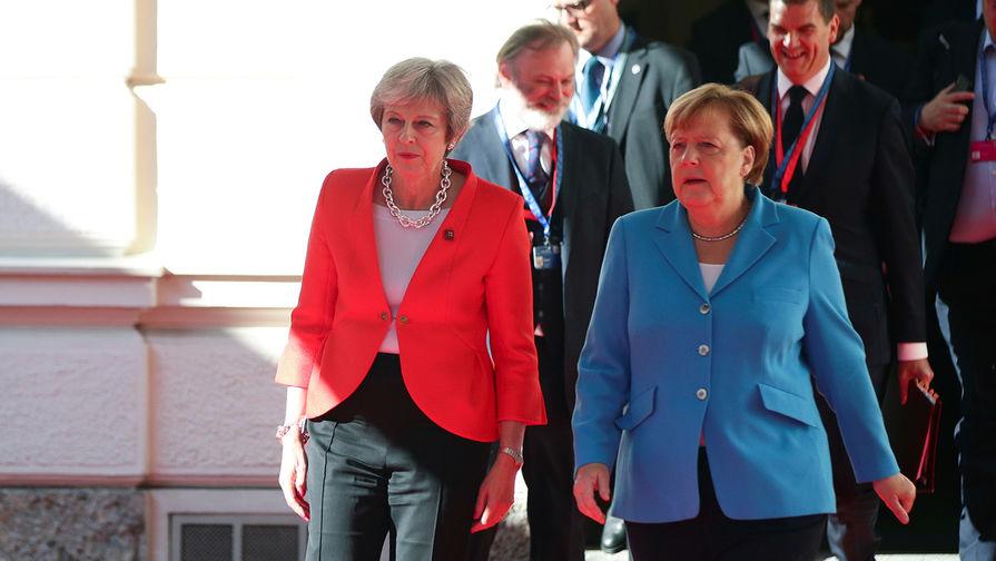Как Ангела Меркель публично оскорбила Терезу Мэй