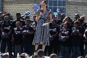 Герцогиня Сассекская Меган в Кейптауне во время визита в ЮАР, 23 сентября 2019 года