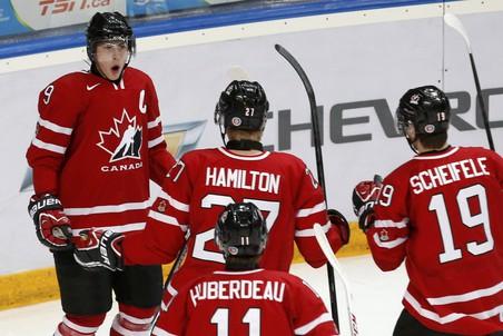 Канадцы быстро отыграли разницу в две шайбы