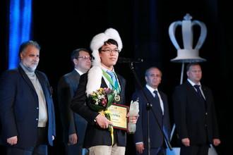 Победитель турнира Ле Куанг Льем