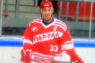 Капитан «Спартака» Денис Бодров