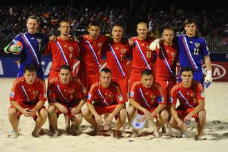 Сборная России идет ко второму подряд званию чемпиона мира по пляжному футболу