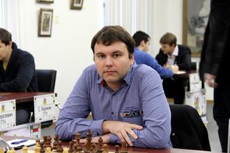 Чемпион России по шахматам Игорь Лысый