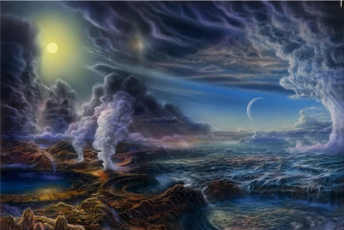 Условия зарождения жизни на Земле 4 млрд лет назад