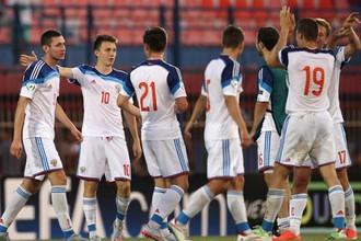 Сборная России по футболу (U-19) обыграла испанцев