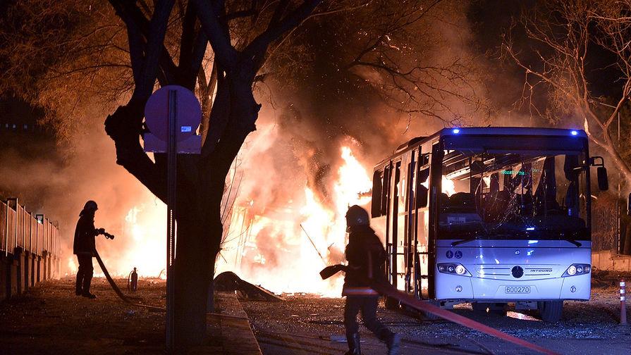 Десятки жертв при теракте в Турции