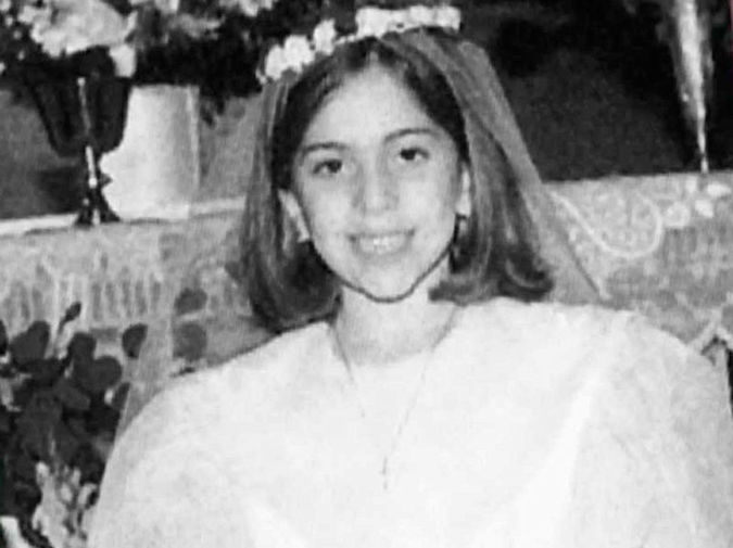 Стефани Джоан Анджелина Джерманотта в детстве