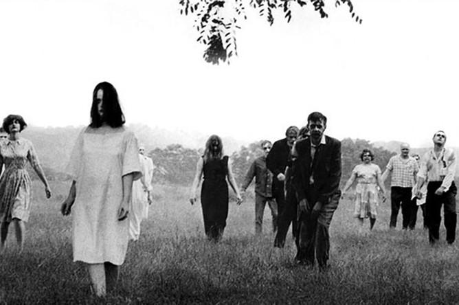 Кадр из фильма «Ночь живых мертвецов» (1968)