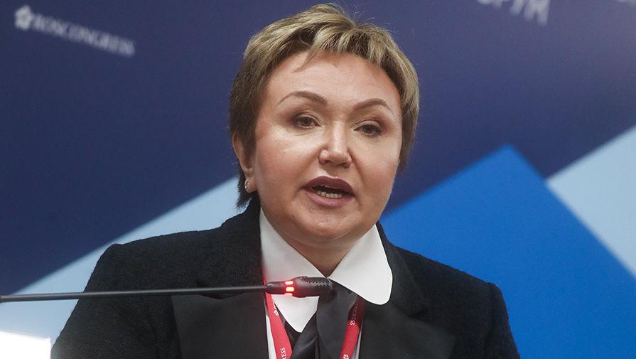 Председатель совета директоров ЗАО «Группа компаний S7» Наталия Филева, 2018 год