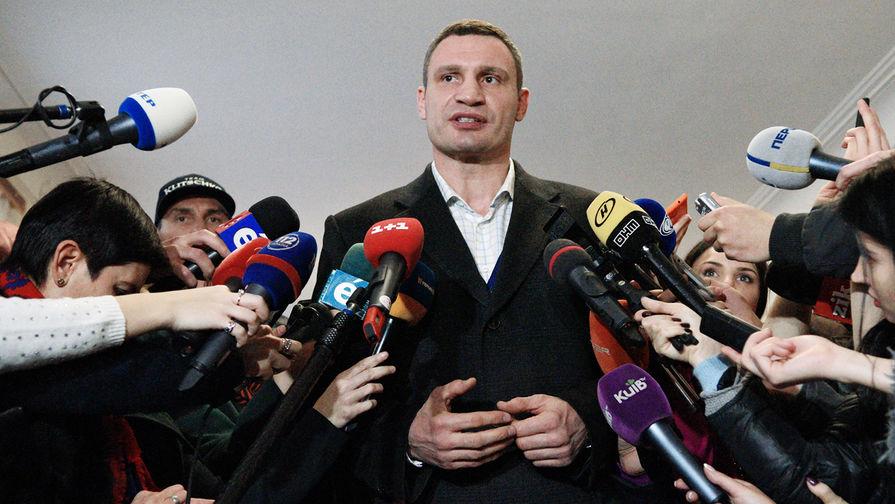 Мэр Киева Виталий Кличко, 2015 год