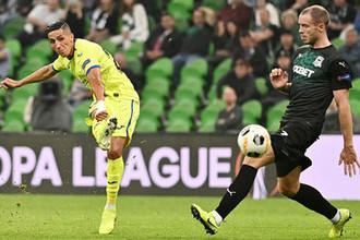 Во время матча группового этапа Лиги Европы УЕФА между ФК «Краснодар» и ФК «Хетафе», 3 октября 2019 года