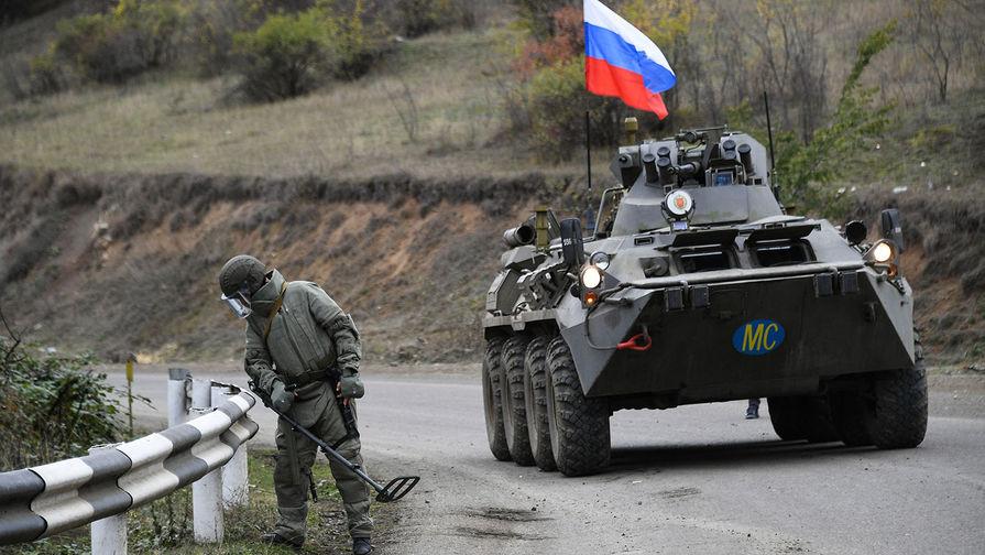 Взрыв мины: в Карабахе ранен офицер ВС России