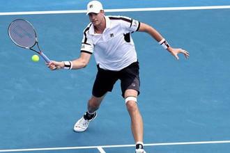 Американский теннисист Джон Изнер