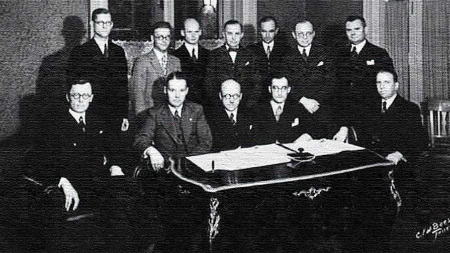 """85 лет назад Латвия, Литва и Эстония создали """"Балтийскую Антанту"""""""