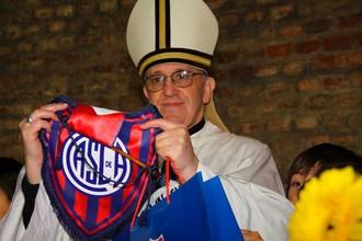 Папа болеет за «Сан-Лоренсо»
