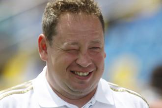 Лучший футбольный тренер России 2013 года Леонид Слуцкий
