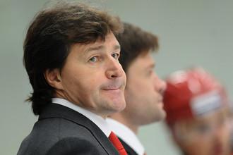 Бывший главный тренер «Витязя» Юрий Леонов