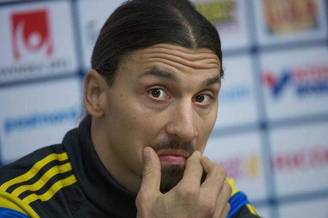 Златан Ибрагимович может не сыграть с Черногорией