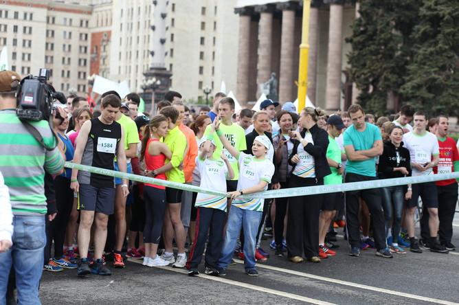 В Москве прошел «Зеленый марафон»