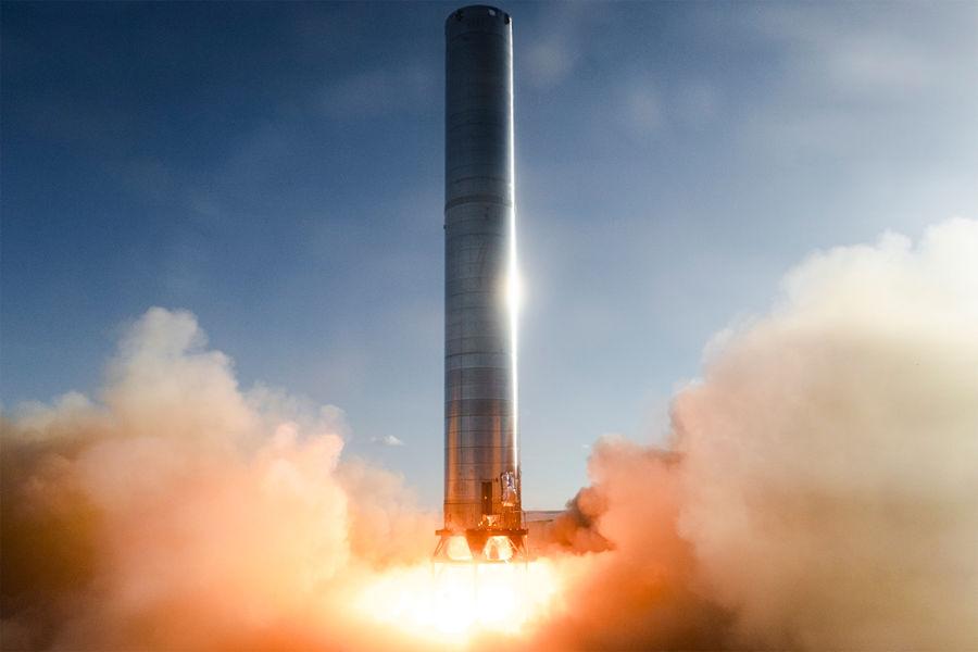 Компания Маска испытала двигатели ракеты дляРїРѕР»РµС'РѕРІ РЅР°РњР°СЂСЃ