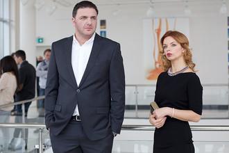 Максим Виторган и Ксения Суркова