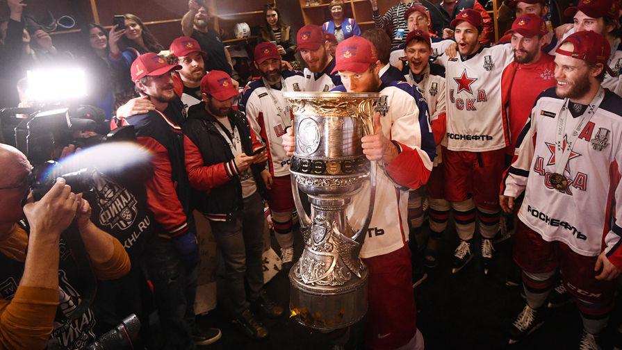ЦСКА впервые выиграл Кубок Гагарина