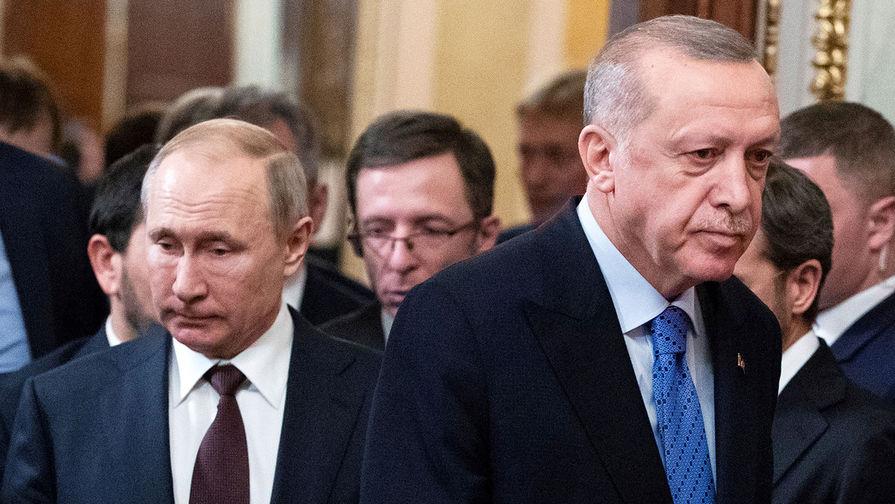 Российско-турецкая группа: Путин и Эрдоган договорились по Карабаху