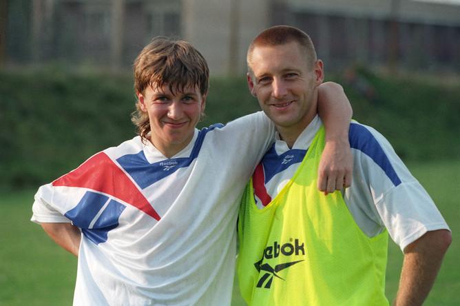 Андрей Тихонов и Валерий Кечинов, 1996 год