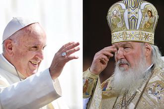 Патриарх и папа займутся имиджем Путина