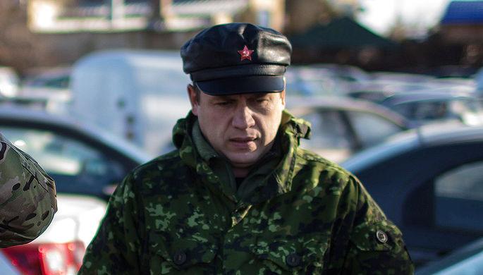 Заместитель командующего народной милиции самопровозглашенной ЛНР Виталий Киселев в Луганске, ноябрь 2014 года