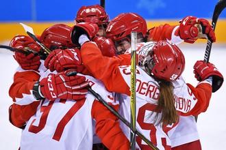 Женская сборная России по хоккею вышла в полуфинал Олимпийских игр