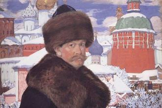 Борис Кустодиев. Автопортрет. 1912