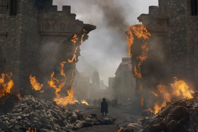 Кадр из 8 сезона сериала «Игра престолов»