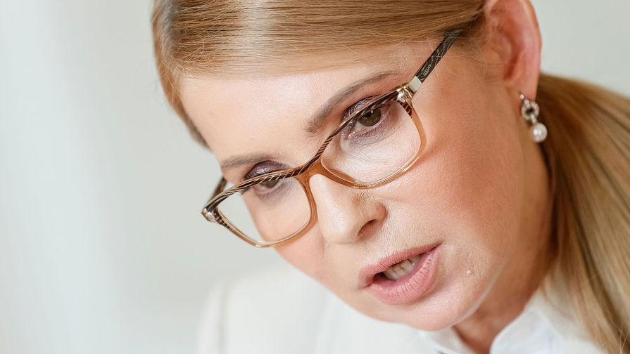 Тимошенко уличила Зеленского в незнании 99% своей партии