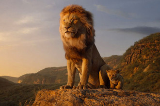 Кадр из анимационной картины «Король Лев» (2019)
