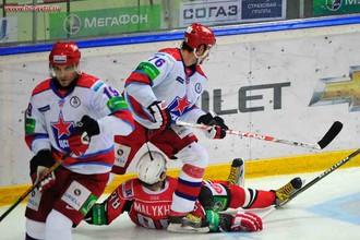 ЦСКА победил в Екатеринбурге