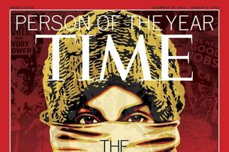 Журнал «Тайм» назвал «Человеком года» всех вместе взятых участников протестов