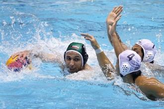 Один из матчей сборной Кувейта по водному поло