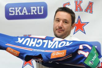 Илья Ковальчук не спешит расставаиться со свитером СКА
