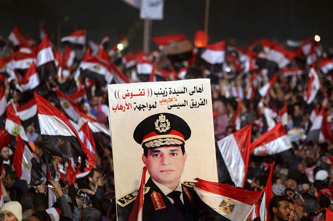 Глава Минобороны Египта, генерал Абдель Фаттаха аль-Сиси