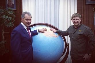 Сергей Шойгу и Рамзан Кадыров
