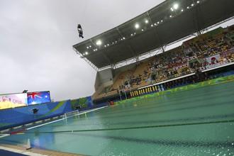 Так выглядит ватерпольный бассейн в Рио-де-Жанейро