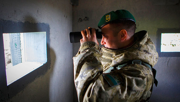 Кинолога застрелили на границе с Украиной