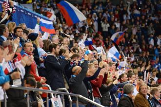 Болельщики на Паралимпийских играх — 2014 в Сочи