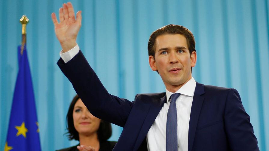 Канцлер Австрии оценил идею постепенной отмены санкций против России