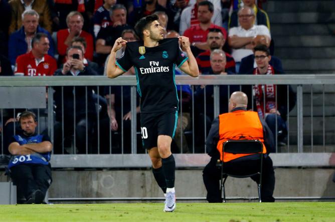 Марко Асенсио вывел «Реал» вперед в матче полуфинала Лиги чемпионов