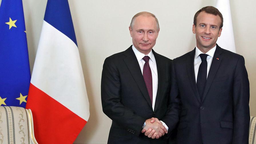 Макрон решил встретиться с Путиным