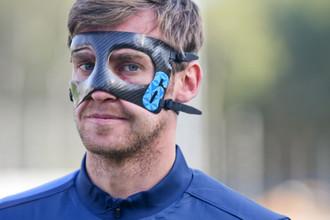 Николас Ломбертс готов сыграть в Лиге чемпионов в маске
